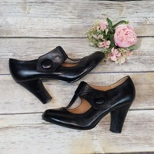 Steve Madden P. Elley Black Mary Janes
